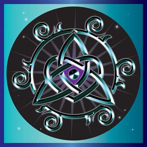 celtic triquetra heart digital art by ireland calling