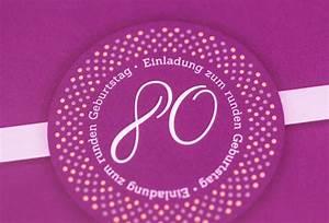 Besinnliches Zum 80 Geburtstag : einladungskarten zum 80 geburtstag ~ Frokenaadalensverden.com Haus und Dekorationen