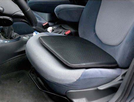 stoel verhogen auto kussen verhoog zitcomfort via autostoelkussens