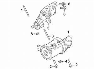 Ford Escape Engine Water Pump Bolt  2 5 Liter Hybrid