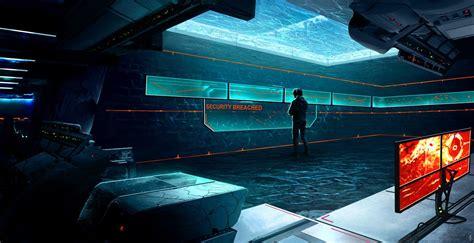 cyberpunk wallpaper dr rems secret lab control room