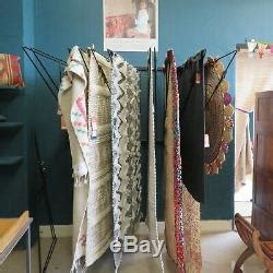 wall mounted rug rack  swing arm display unit equestrian rug rack