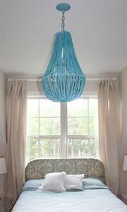 diy beaded chandelier tutorial sawdust