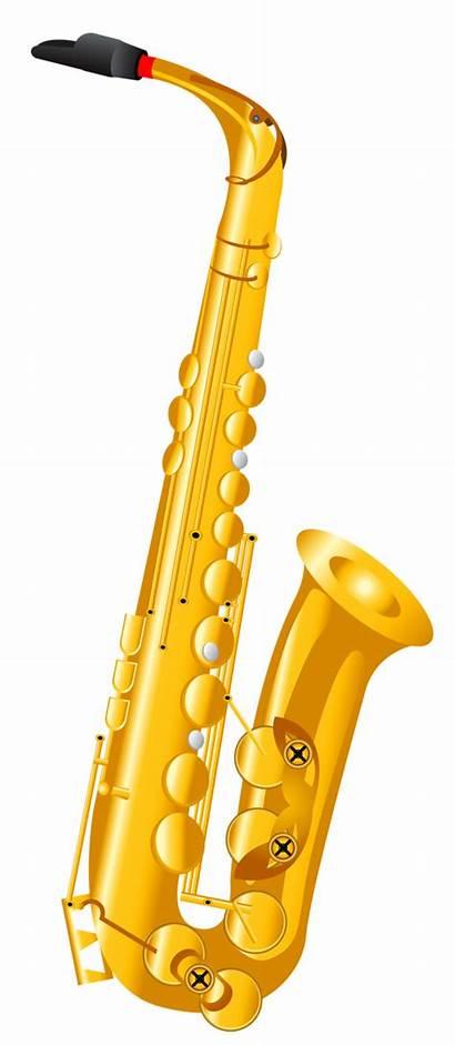 Clipart Clarinet Clip Instruments Watercolor Cartoon Musical