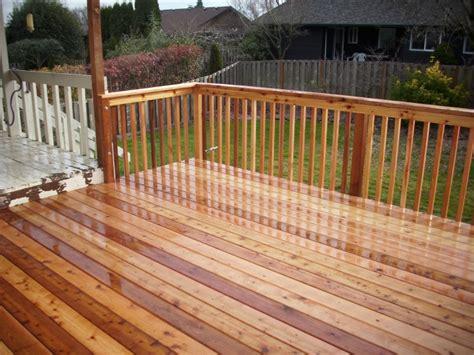 deck resurfacer vs stain cedar deck resurfacing deck masters llc portland or