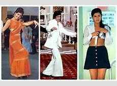 Changing Clothes Styles 50 Years of Indian Cinema