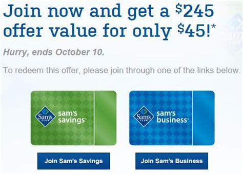 13065 Free Sams Club Membership Coupon by Sam S Club 45 For A 1 Year Plus Membership 20 Gift