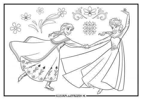 Kleurplaat A4 Uitprinten by Elsa Kleurplaat Uitprinten Op Kleurplaat Frozen