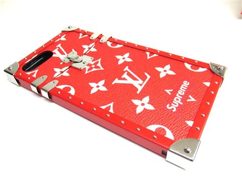 Louis Vuitton Iphone 7 Red Eye Trunk Case Limited Edition