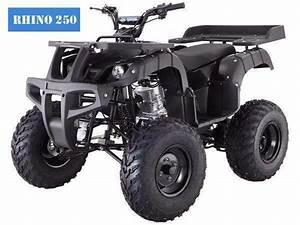 New Rhino 250 Utility Four Wheeler Atv With Free Shipping