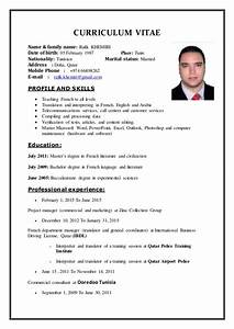 cv khemiri rafik english With cv in english