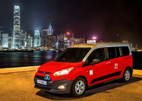 Ford Motor Company Launches Transit Connect Taxi In Hong Kong