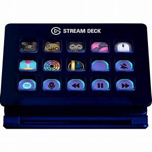 Elgato Stream Deck Usb Keypad Black 10gaa9901