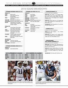 2016 Penn State Football Spring Guide By Penn State