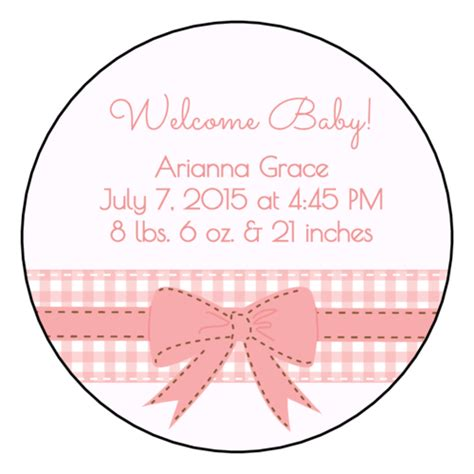 baby shower label templates   downloadable baby