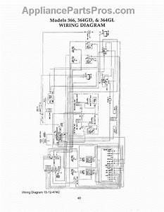 Parts For Thermador Prg366us  Wiring Diagram Parts