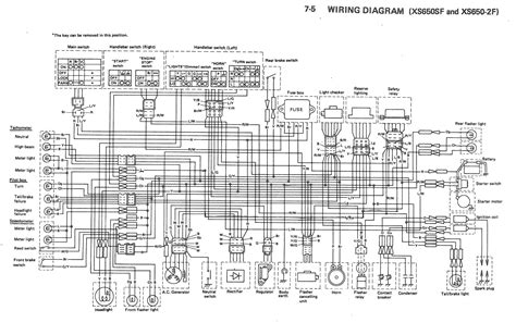 1979 Xs650 Electronic Ignition Wiring Diagram by Xs650sf Thexscafe