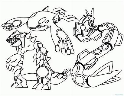 Pokemon Coloring Pages Kyogre Bubakids