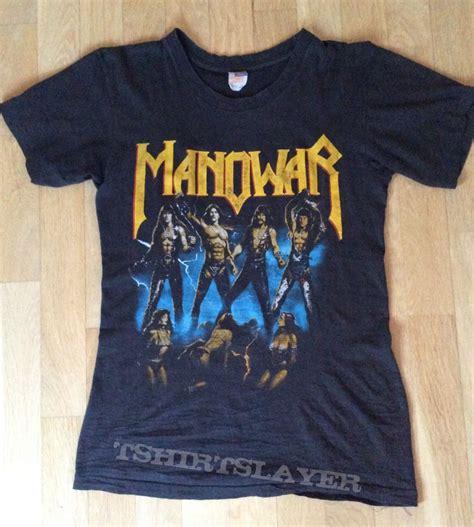 manowar fighting the world 1987 european tour shirt
