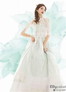 hanbok inspired wedding dress traditional korean With hanbok inspired wedding dress