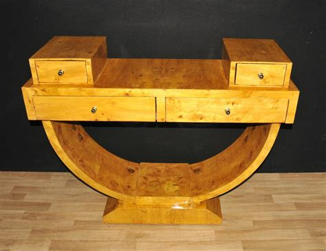 deco furniture for sale uk deco walnut console table vintage furniture tables ebay