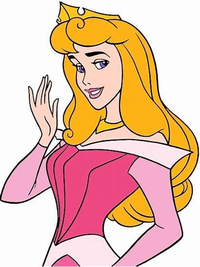 Aurora Princess Sleeping Disney Beauty Clipart Clip