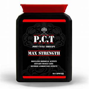 Pct Capsules Post Cycle Therapy Test Booster Support