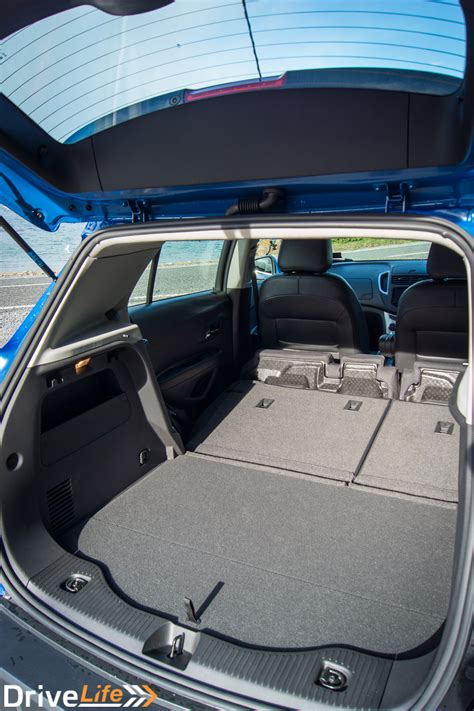 holden trax ltz car review  small big blue suv
