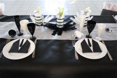 decoration mariage noir et blanc pas cher decormariagetrnds