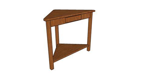 how to make a corner desk corner shelf plans howtospecialist how to build step