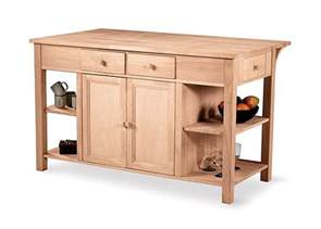 kitchen island drawers buy kitchen island storage w breakfast bar featuring shelves cabinet storage drawers