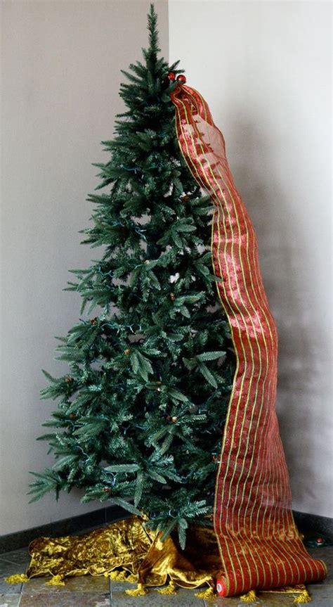 how to put mesh ribbon on a christmas tree mesh ribbon deco mesh and mesh on