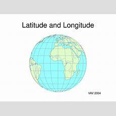 Ppt  Latitude And Longitude Powerpoint Presentation Id703698