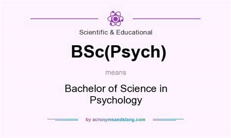 what does bsc stand for what does bsc psych mean definition of bsc psych