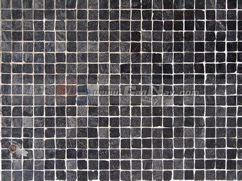 black slate mosaic floor texture image   cadnav
