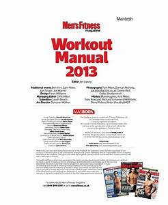 Men U0026 39 S Fitness Workout Manual Your Guide To Building Muscle