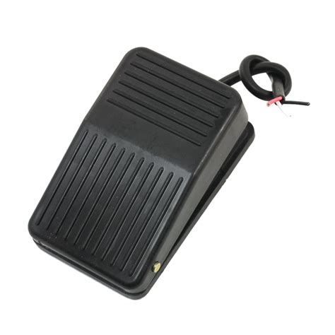 foot switch for l foot pedal switch 220v 10a spdt nonslip black plastic
