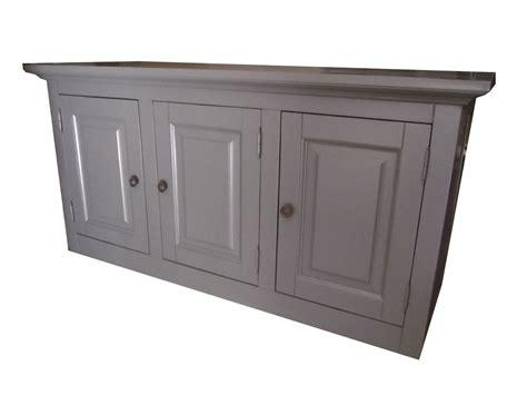 element haut de cuisine 3 portes pin massif
