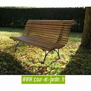 Banc De Jardin Bois : banc de jardin en bois pas cher bancs de jardin en bois ~ Dode.kayakingforconservation.com Idées de Décoration
