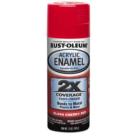 enamel acrylic 2x rustoleum gloss cherry auto paints general brands purpose ready