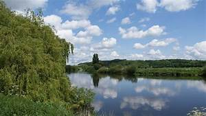 Landscape, Nature, River, Sky, Blue, Green, Wallpapers, Hd