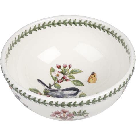 portmeirion botanic garden bowls portmeirion botanic garden salad bowl 25cm chickadee