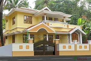 Evens construction pvt ltd compound wall design