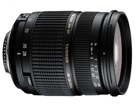 tamron 28 75mm f 2 8 xr di ld specifications and opinions juzaphoto