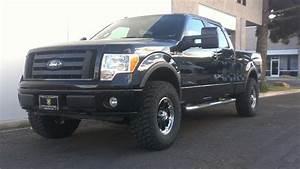 Ford F150 With 3 U0026quot  Readylift Leveling Kit 34 U0026quot  Kelly Safari