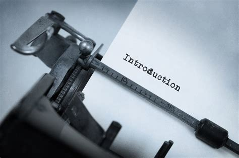 How To Write An Introduction  College Choice
