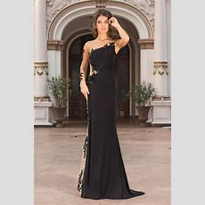 Long Transparent Dress  Yadira  Vero Milano Fashion Shop
