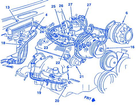 Chevrolet Truck Engine Electrical Circuit