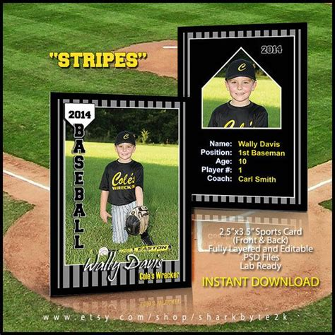 Sports Trading Card Templet Craft Ideas 11 Best Sports Cards Photography Images On