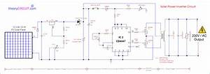 Pv Solar Inverter Circuit Diagram